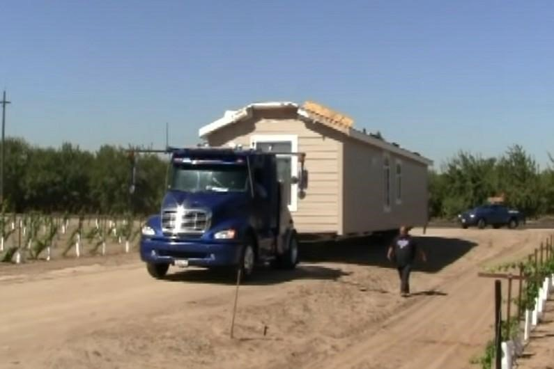 Transportation of Modular Home
