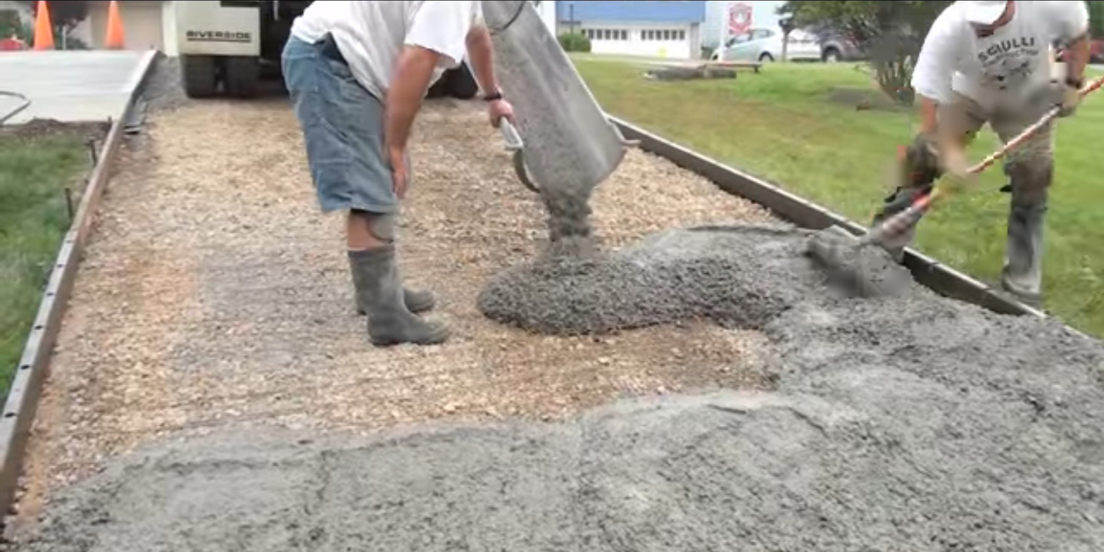 Concrete Pouring height below 1m