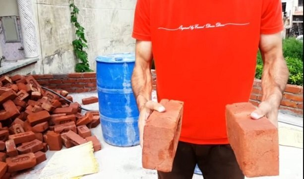 Two bricks are Two bricks are Struck each otherStruck each other