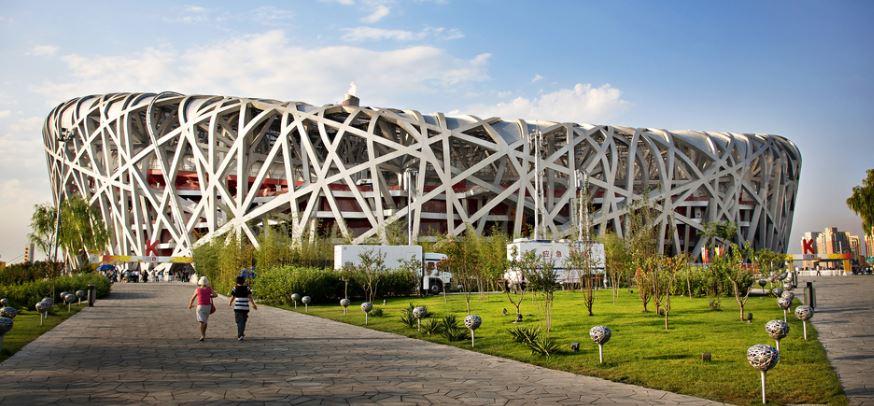 Beijing National Stadium Ground Floor is made of Shrinkage Compensating Concrete