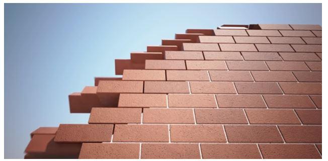 No Plasterwork required (Source: YouTube/Malaysia Interlocking Bricks (MyIB))