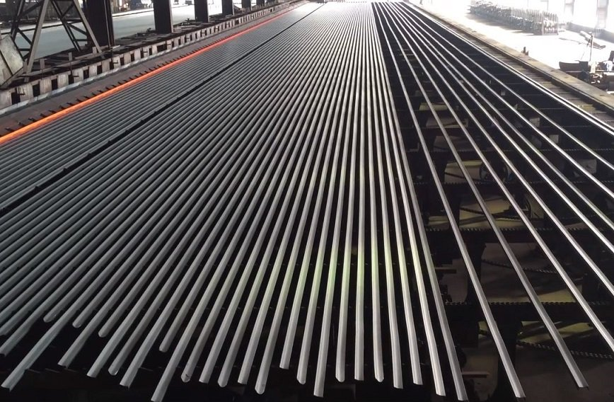 TMT Bars and Steel Cooling Bed - YouTube - Robin Yan