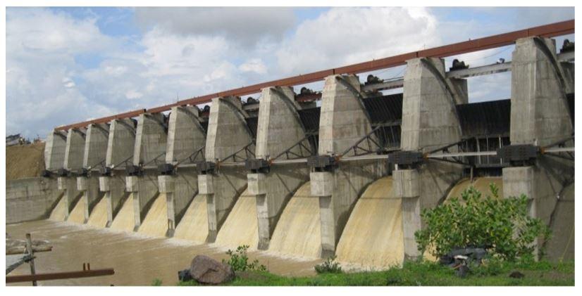Barrage on Kshipra River