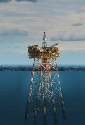 Fig. 1 – Piled Jacket offshore structures