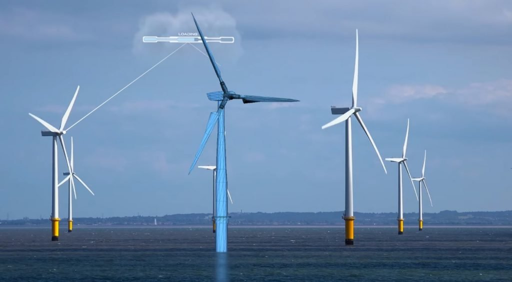 Offshore Wind Farm structures (Source DNV GL - Digital Solutions)