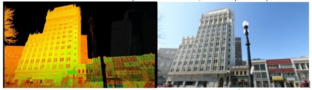 Point cloud and surface model of an existing building with 3D Surveying (Source- YouTube.com,Leica Geosystems AG)