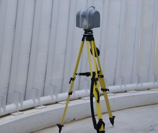 Trimble TX8 Laser Scanner (Source - YouTubeBuildingPoint Florida)