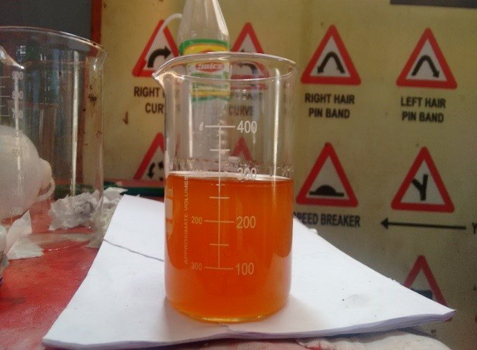 Synthetic bio fuel produced in Laboratory